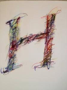 """Portrait of an H 20"""" x 30"""""""